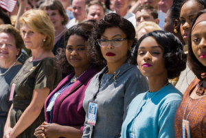 Katherine Johnson (Taraji P. Henson), Dorothy Vaughn (Octavia Spencer) and Mary Jackson (Janelle Monae)—brilliant African-American women working at NASA, who served as the brains behind one of the greatest operations in history: the launch of astronaut John Glenn into orbit,