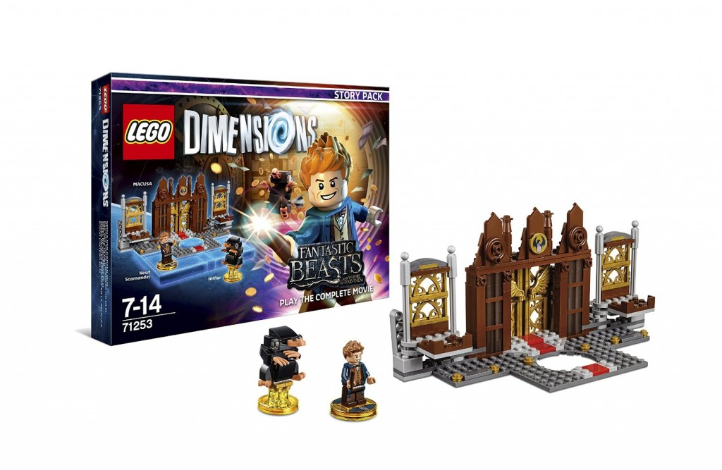Fantastic Beasts and Where To Find Them LEGO Dimensions MACUSA Gateway Build - Look at it, it is beautiful!