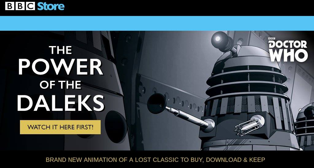 Power Of The Daleks BBCstore