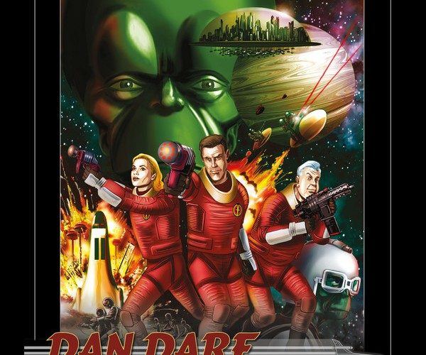 Big Finish Productions and B7 Media team up to bring a classic Sci-Fi character to audio life: Dan Dare!