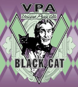 Vincent Price Ale – Black Cat  Skrimshander 4.6% ABV