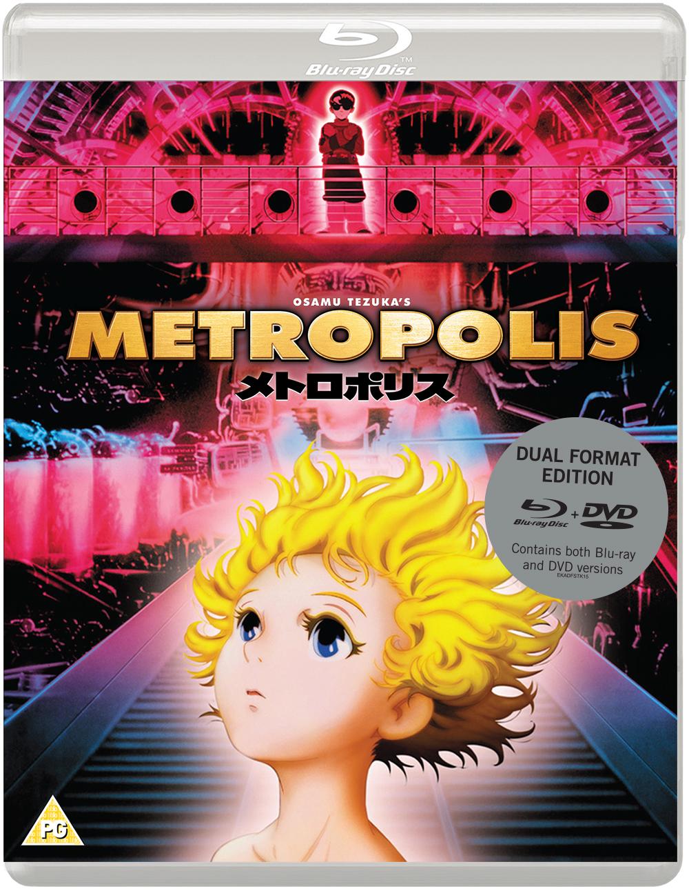 Osamu Tezuka's METROPOLIS Dual Format