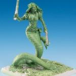 Marshalla Silvie Green Sculpt Front