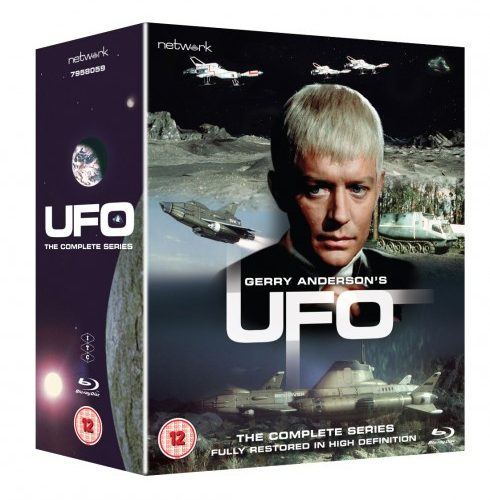UFO – THE COMPLETE SERIES - Click On Image to Order from the Official Gerry Anderson Store.