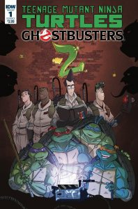 Teenage Mutant Ninja Turtles/Ghostbusters  Comic Book Crossover Sequel