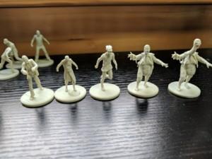 Evil Dead Board Game Miniatures