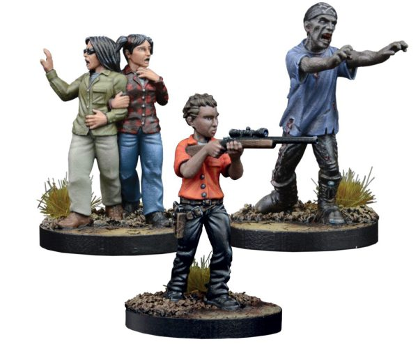 The Maggie, Prison Defender Booster Miniatures.
