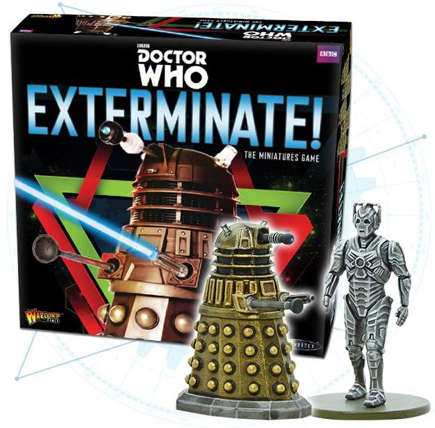 Warlord Games Doctor Who Exterminate Game