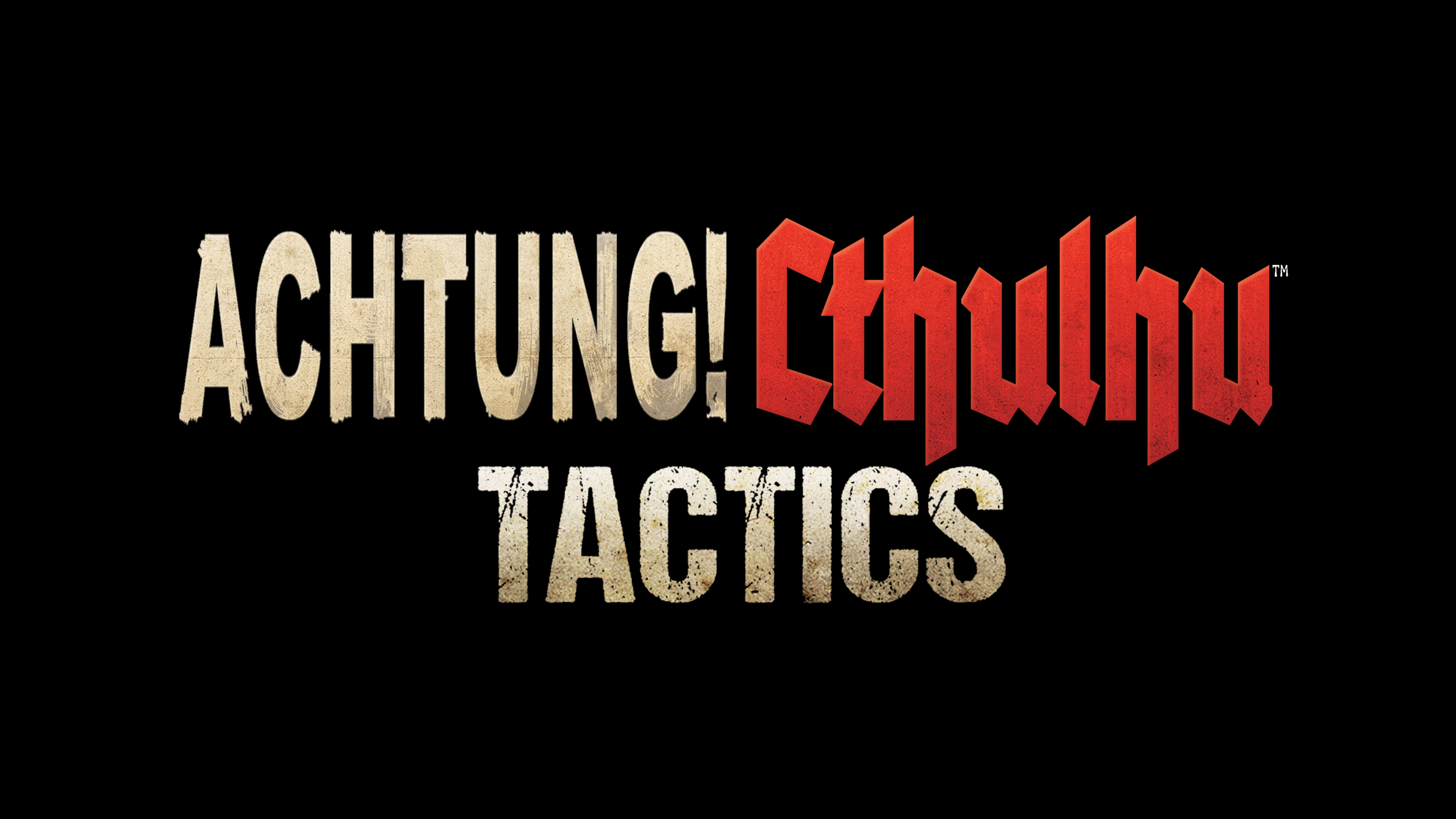 Achtung! Cthulhu Tactics - Action/RPG Video Game Logo