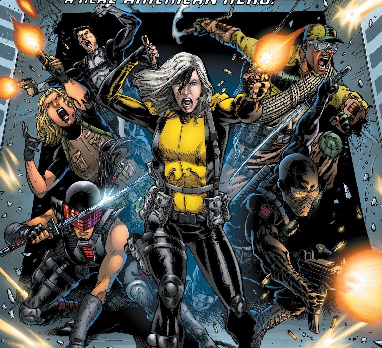GI Joe Comic Cover Silent Option