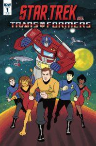 Star Trek vs. Transformers Comic Book Crossover