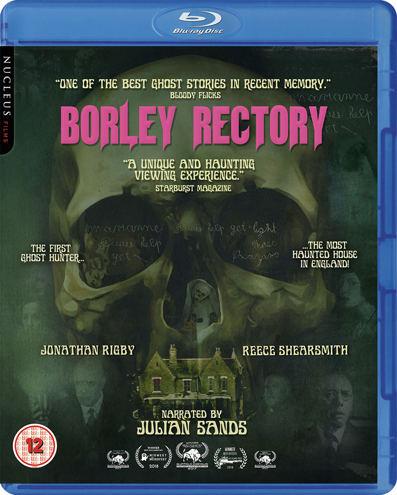 Borley Rectory Blu Ray Cover