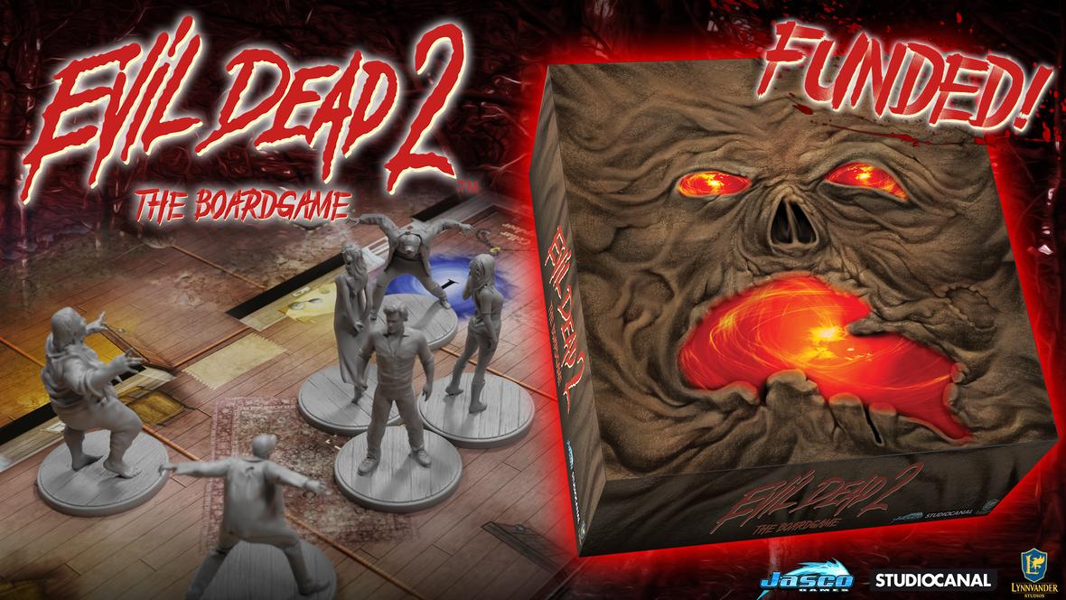 Evil Dead 2 Board Game Jasco