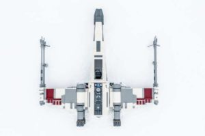 Lego X Wing Top Down