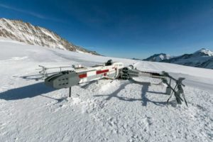 Lif Sze Lego XWing In Snow