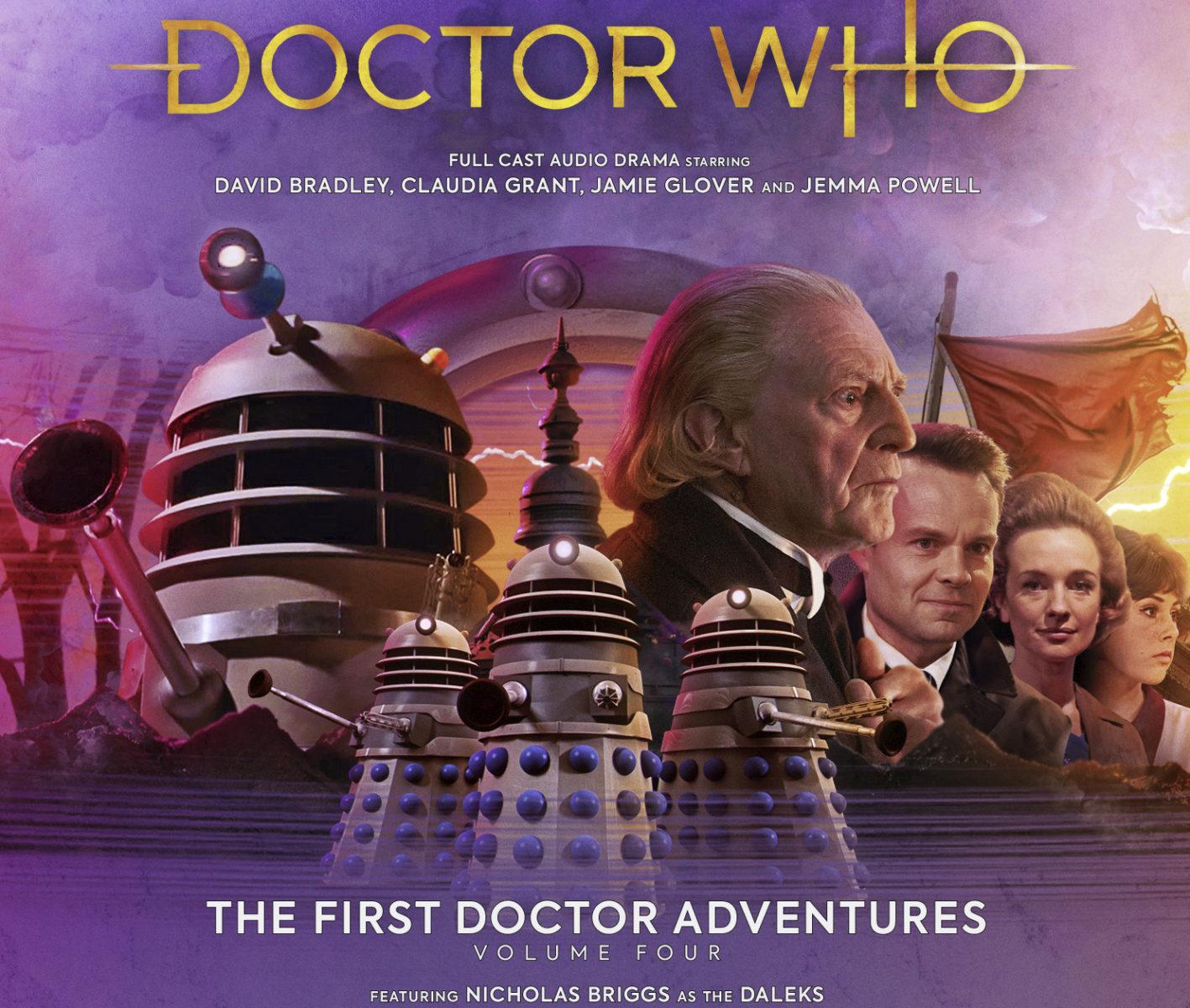 Doctor Who David Bradley battles the Daleks on Skaro