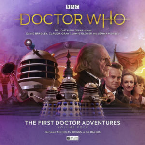 Doctor Who David Bradley battles the Daleks on Skaro