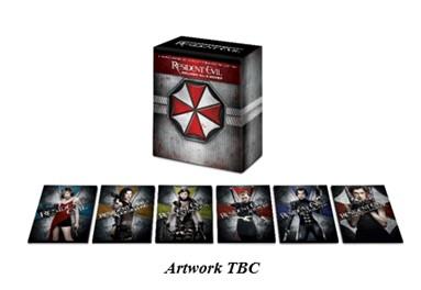 Resident Evil 4k Movie Set