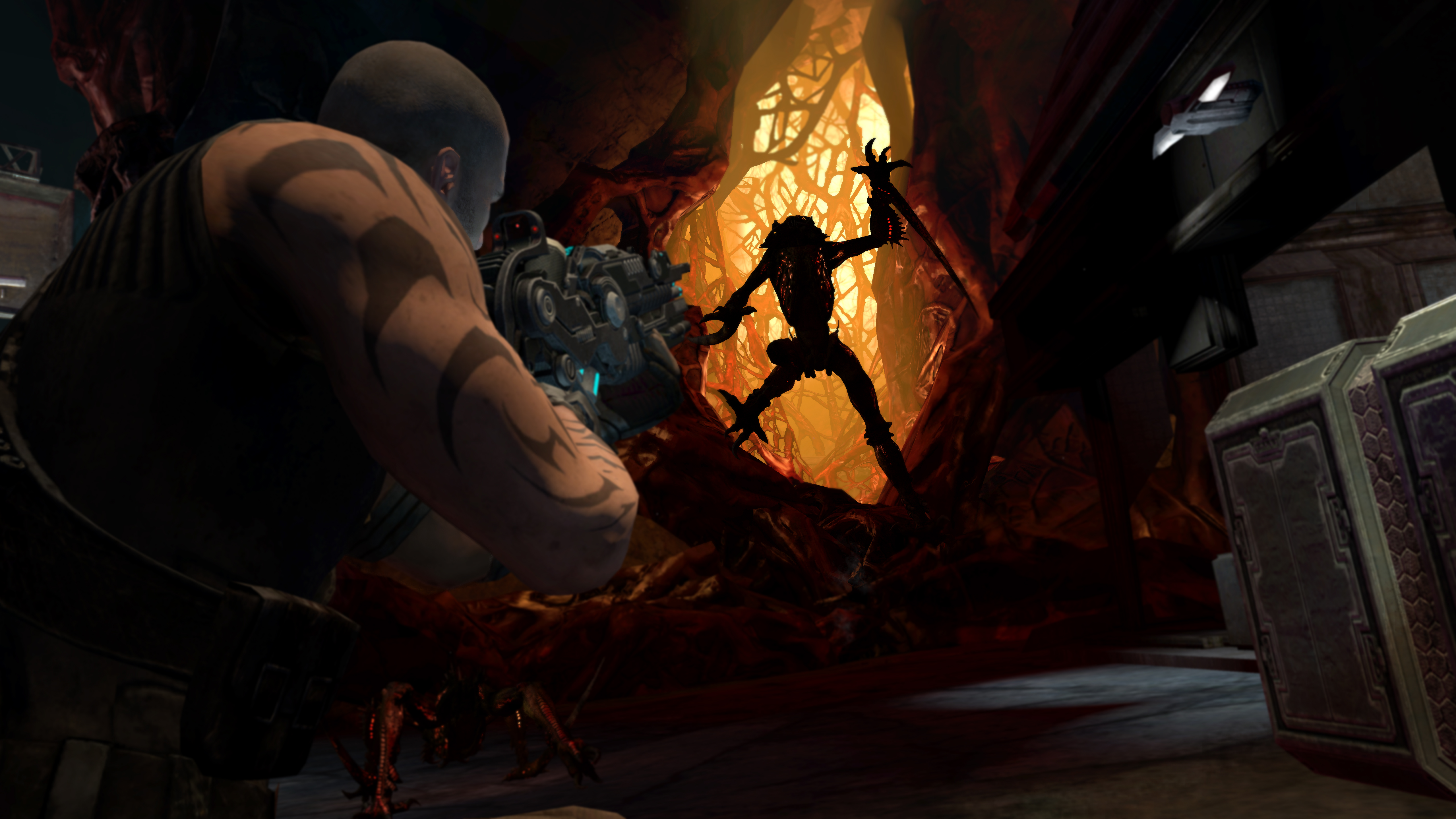 Red Faction Armageddon ScreenShot: Darius Alien