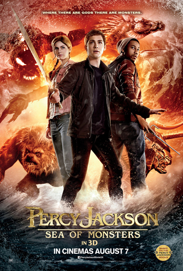PERCY JACKSON: SEA OF MONSTERS - Poster
