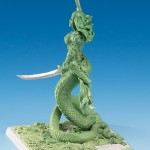 Marshalla Silvie Green Sculpt Side