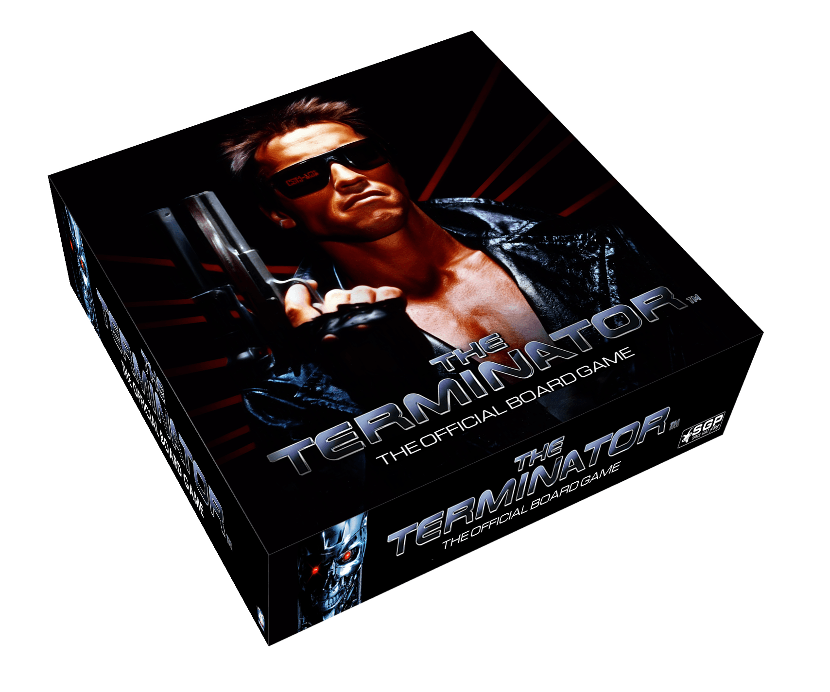 Terminator Boardgame Box