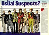 Doctor Who's Usual suspects 1999