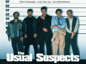 Usual Suspects 1995 Movie Poster