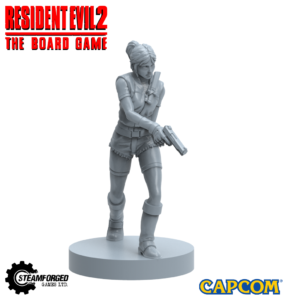 Claire Redfield Resident Evil 2 Board Game Miniature