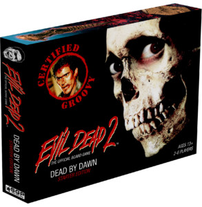 Evil Dead Board Game Box Art
