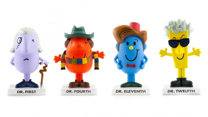 Mr Men Doctor Who Vinyl (?) Figures
