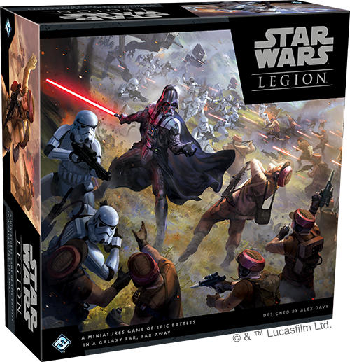 Star Wars Legion - Wargame Box Art