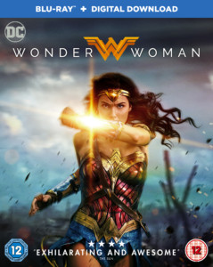 Wonder Woman Blu Ray Cover