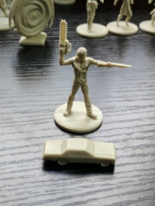 Evil Dead Miniatures - Hail To The King - Ash and his Classic.