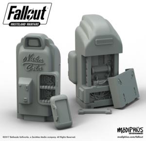 Fallout Nuka Cola Skirmish Game Terrain Piece