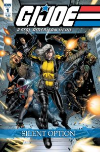 GI Joe Comic Cover Silent Option
