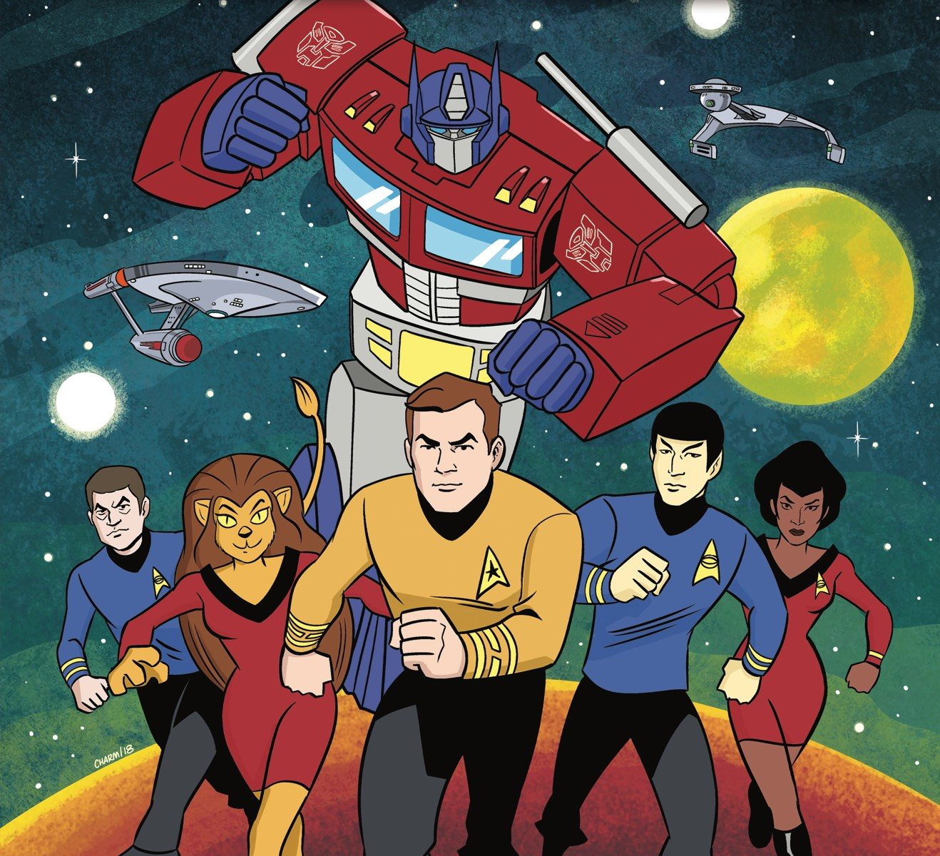 Star Trek vs. Transformers Comic Book Crossover
