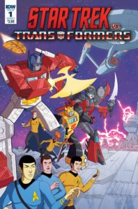 Star Trek Vs Transformers Comic Crossover