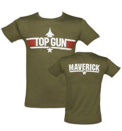 Men's Military Green Top Gun Maverick T-Shirt