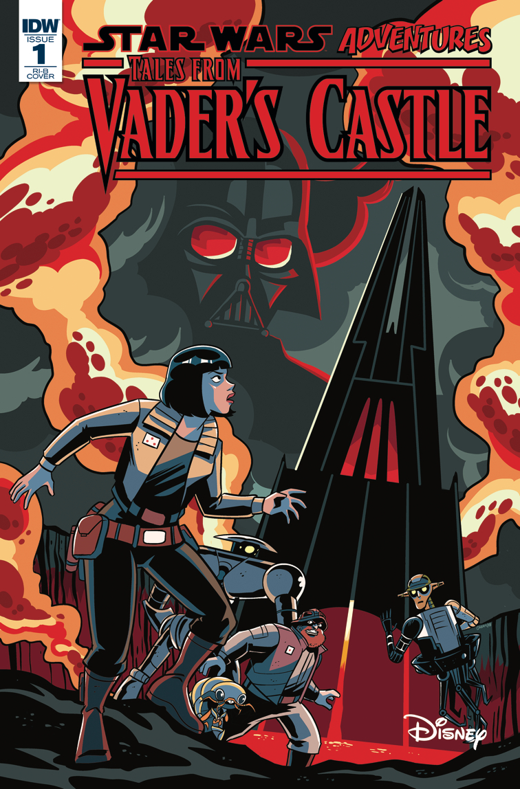 Star Wars Adventures Tales from Vaders Castle