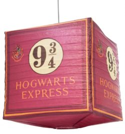 9 3/4 Hogwarts Express Harry Potter Cube Paper Shade