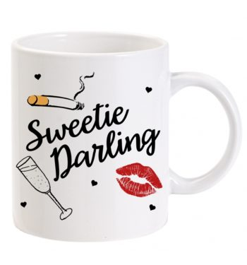 Ab Fab Sweetie Darling Boxed Mug