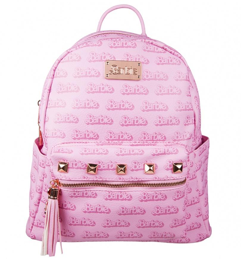 Pink Barbie Logo Backpack - SciFind 76c988bb63fb6