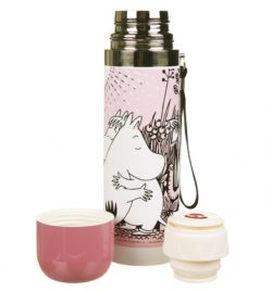 Pink Moomins Love Thermal Flask from Disaster Designs