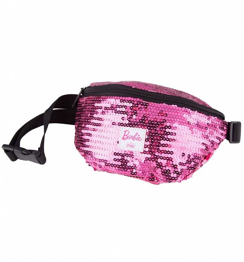 Sequin Pink Barbie Bum Bag from Spiral - SciFind ec42d91f04460