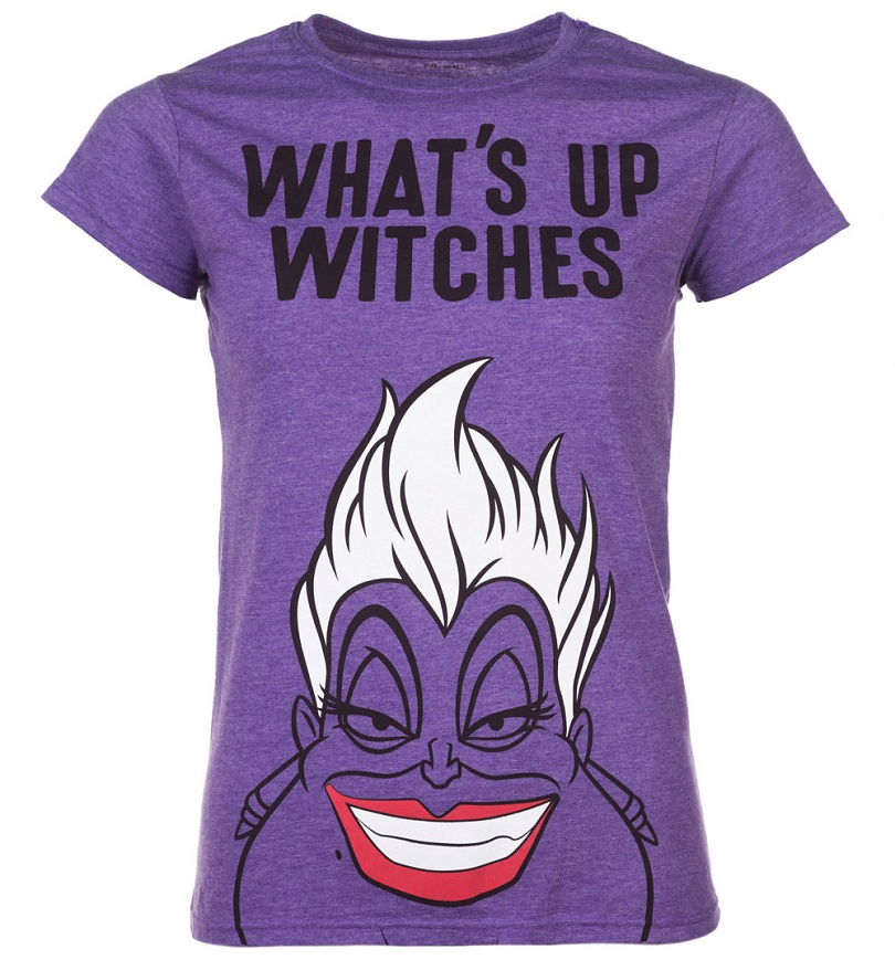 Women S Ursula What S Up Witches The Little Mermaid T Shirt Scifind