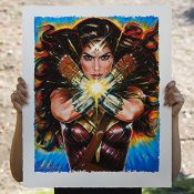 Wonder Woman DC Comics Art Print