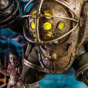 Big Daddy and Little Sister BIOSHOCK Sixth Scale Figure