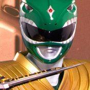 Green Ranger Mighty Morphin Power Rangers Statue