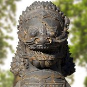 Sagat Thai Guardian Set Street Fighter Statue